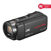 (長期無料保証)JVC内蔵メモリー32GBGZ-R75K-Bブラック【ケーズデンキオリジナルモデル】