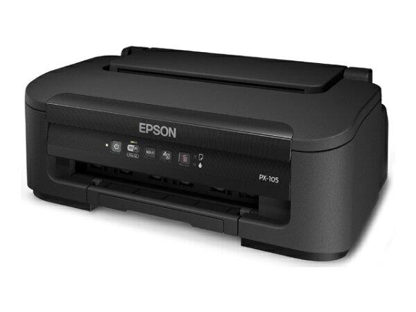 エプソンA4カラーインクジェットプリンターPX-105