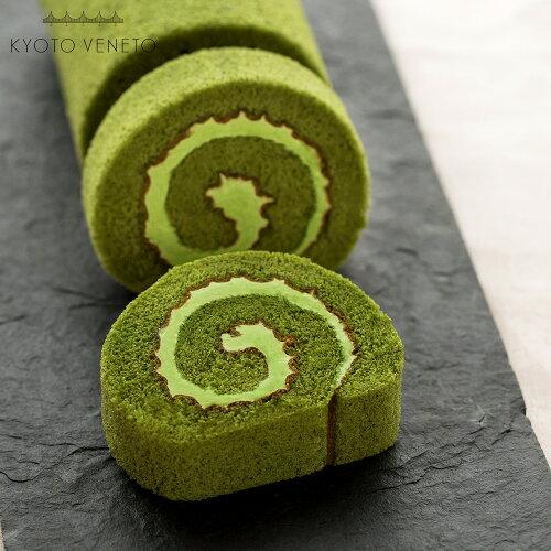京都抹茶ロールケーキ