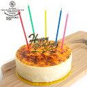 濃厚 チーズケーキ バスクチーズケーキ 6ピースカット(12cm 4号サイズ) カットケーキ カトルフィユ 広島 ケーキ スイーツ ギフト プレゼント 送料無料 出産 結婚 内祝い お祝い お返し お礼 誕生日 メッセージカード対応 お中元 暑中見舞い 敬老の日