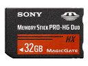 【納期約7〜10日】MS-HX32B 【送料無料】[SONY ソニー] メモリースティック PRO-HG デュオ MSHX32B