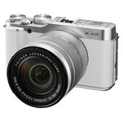 X-A2 ホワイト【送料無料】[FUJIFILM フジフイルム] デジタル一眼カメラ レンズキット XA2