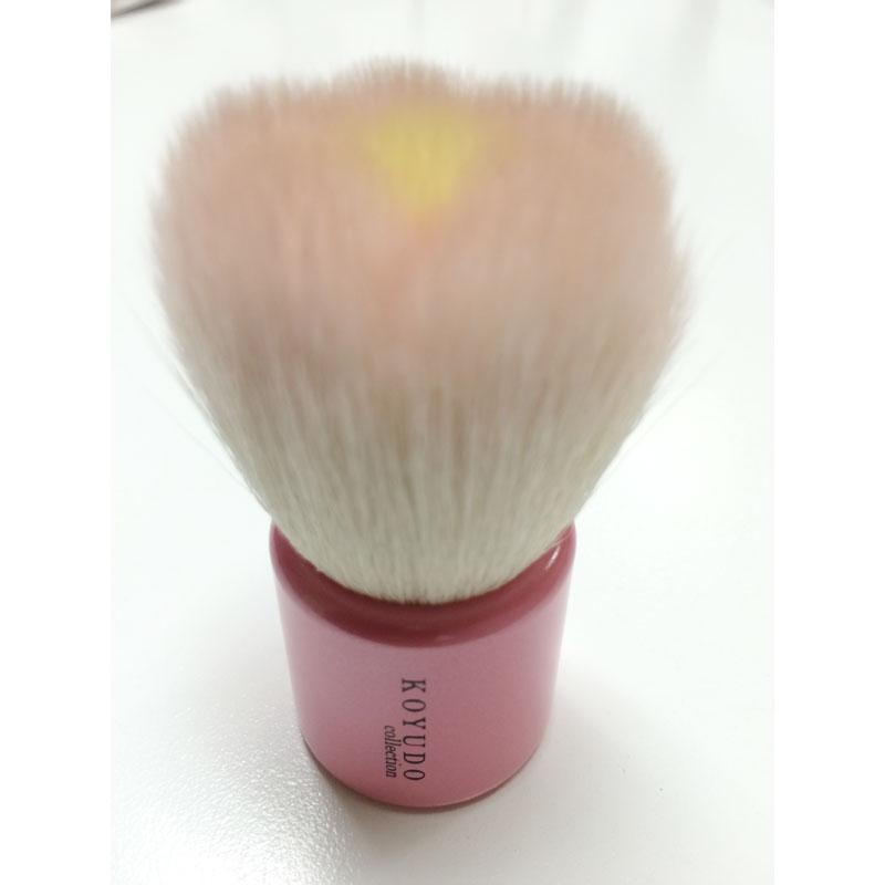 フラワー洗顔ブラシ ピンク / 68mm