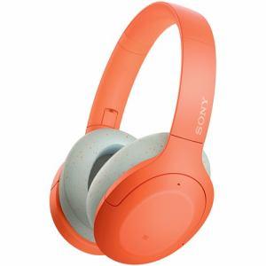 【納期約4週間】★★WH-H910N DM [SONY ソニー] ワイヤレスノイズキャンセリング オレンジ WHH910NDM