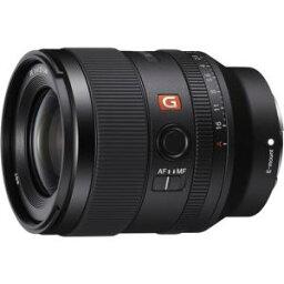 【納期約3週間】【代引不可】SONY ソニー SEL35F14GM 一眼カメラレンズ デジタル一眼カメラα[Eマウント]用レンズ FE 35mm F1.4 GM ブラック