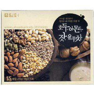 ダムト ユルム茶(クルミ・アーモンド) 18g×15本入 【コーン茶】【韓国伝統茶】
