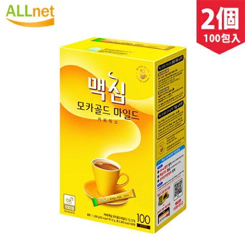 マキシム モカゴールド コーヒーミックス 12g 100包入り 2個セット インスタント コーヒー 飲み物 韓国ドリンク 韓国茶 韓国食品 マキシム インスタントコーヒー
