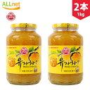 サンファ 柚子茶 1Kg×2個セット 韓国食品 蜂蜜ゆず茶 ...