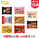 【送料無料】ブルダック炒め麺8種から選べるお試し18袋セット