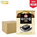 ヘピョ海苔全形(7枚入り)x40袋(1BOX) 韓国海苔/海苔巻き/韓国のり/お贈り物/ギフト/プレゼント/韓国海苔 ヘピョ全形