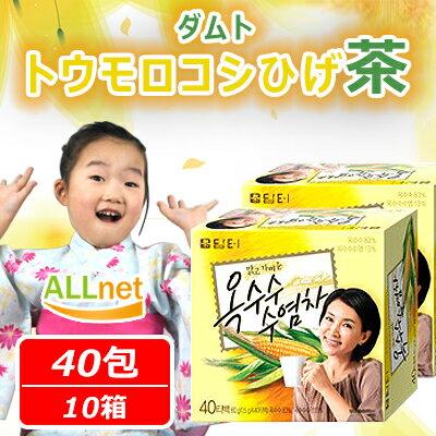 「ダムト」 トウモロコシのヒゲ茶「ティーパック」40袋入り 10個セット ティーバッグ 【コーン茶】【韓国伝統茶】