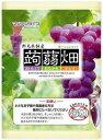 マンナンライフ 蒟蒻畑 ぶどう味 (25g×12個)×6袋