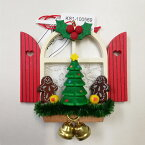 CHRISTIAN ULBRICHT ☆オーナメント☆星形のジンジャークッキー ドイツの木工芸品 クリスマスツリー 装飾 マスコット 本場 雑貨 プレゼント かわいい 贈り物 Advent Window Ginger Bread Ornament by KSINTERONLINE
