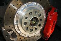 M-Tecnologia製フェラーリ360モデナ純正1ピースブレーキローター用ブレーキハウジングマスク