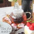 【送料無料】耐熱ガラス ティーポット 200 Tea for Two 200ml(1〜2杯用) YTP-200