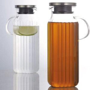 イワキ iwaki 耐熱ガラス 麦茶ポット スクエアサーバー 取っ手付き 1000ml K29…