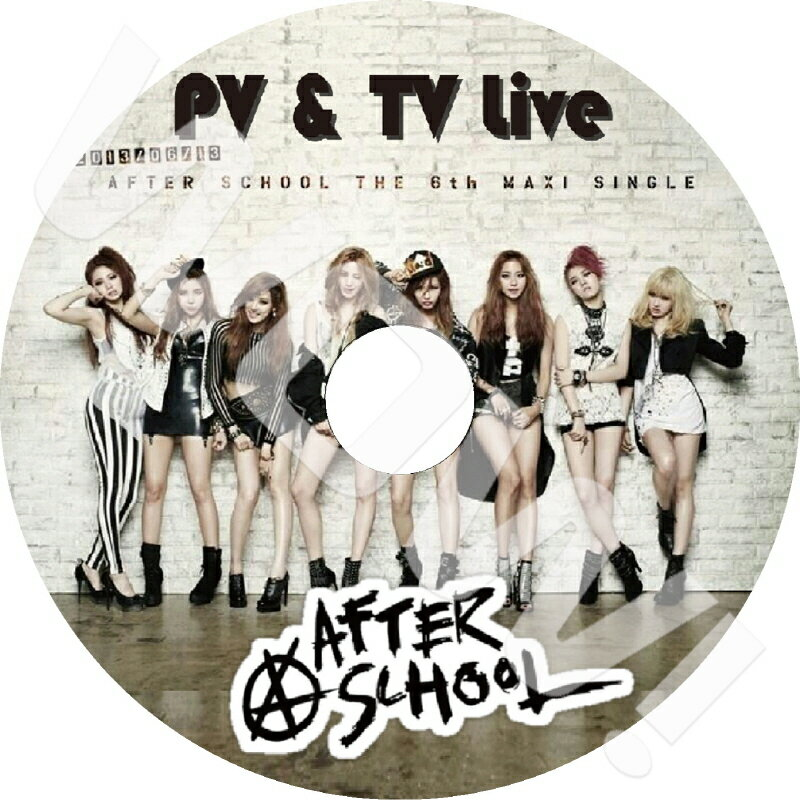 アジア・韓国, 韓国 K-POP DVD After School PVTV FIRST LOVE LOVE LETTER SHAMPOO After School JungA U-ie Raina Nana Lizzy E-Young KaEun DVD PV DVD