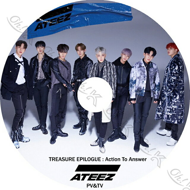 アジア・韓国, 韓国 K-POP DVD ATEEZ 2020 PVTV Answer WONDERLAND WAVE ATEEZ DVD PV KPOP DVD