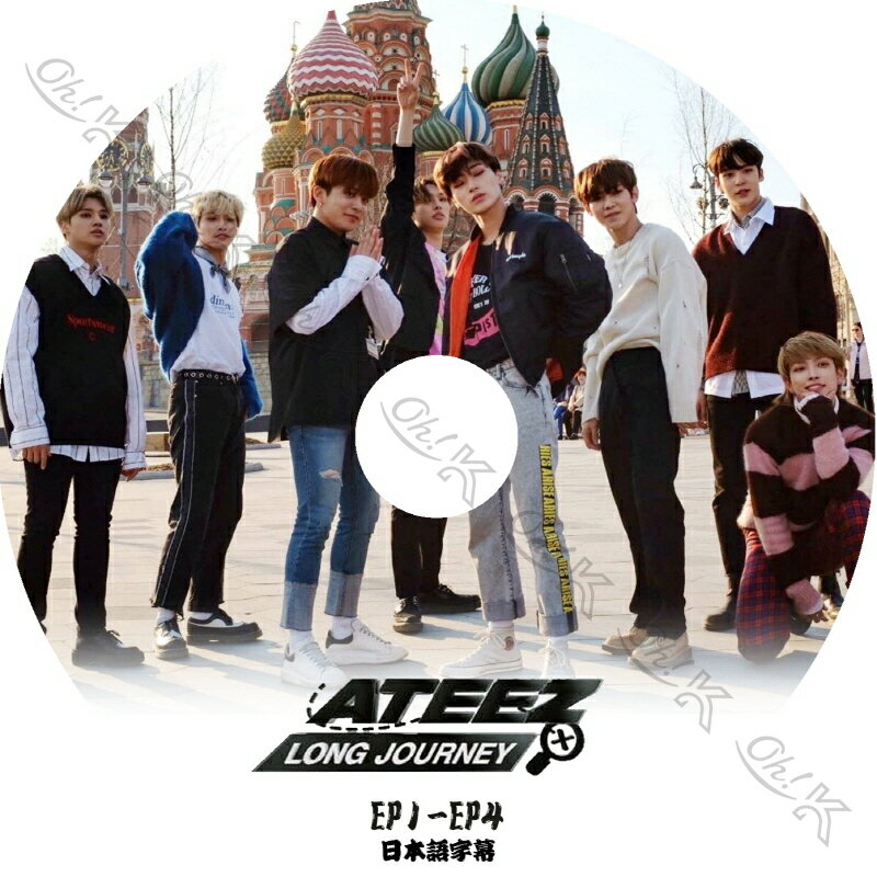 アジア・韓国, 韓国 K-POP DVD ATEEZ LONG JOURNEY (EP1-EP4) ATEEZ DVD ATEEZ KPOP DVD