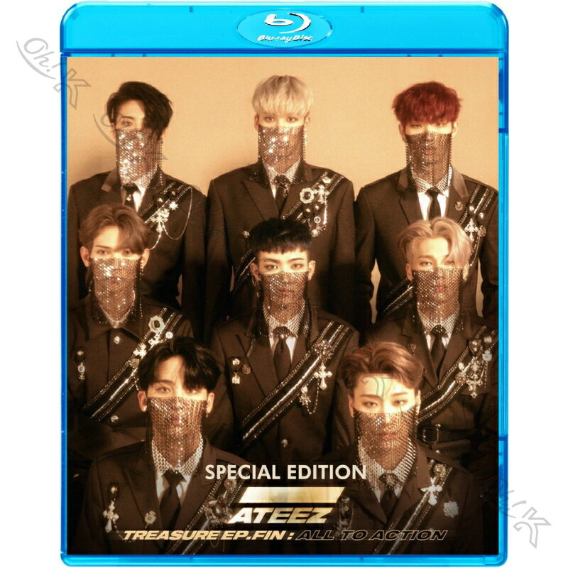 アジア・韓国, 韓国  Blu-ray ATEEZ 2019 SPECIAL EDITION WONDERLAND WAVE K-POP ATEEZ ATEEZ