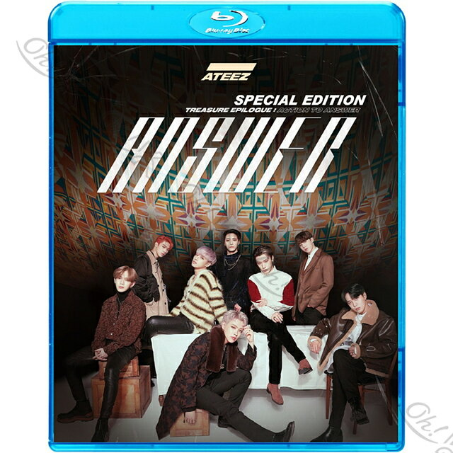 アジア・韓国, 韓国 Blu-ray ATEEZ 2020 SPECIAL EDITION Answer WONDERLAND WAVE K-POP ATEEZ ATEEZ
