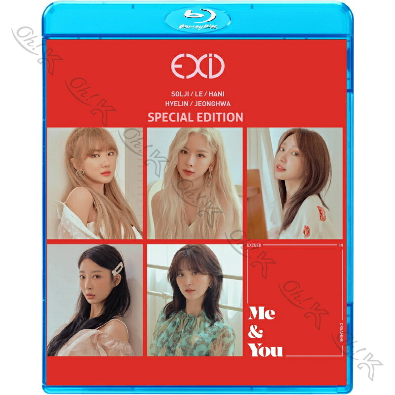 アジア・韓国, 韓国 Blu-ray EXID 2019 SPECIAL EDITION MEYOU I LOVE YOU LADY DDD Night Rather Than Day L.I.E HOT PINK AH YEAH UPDOWN EXID EXID