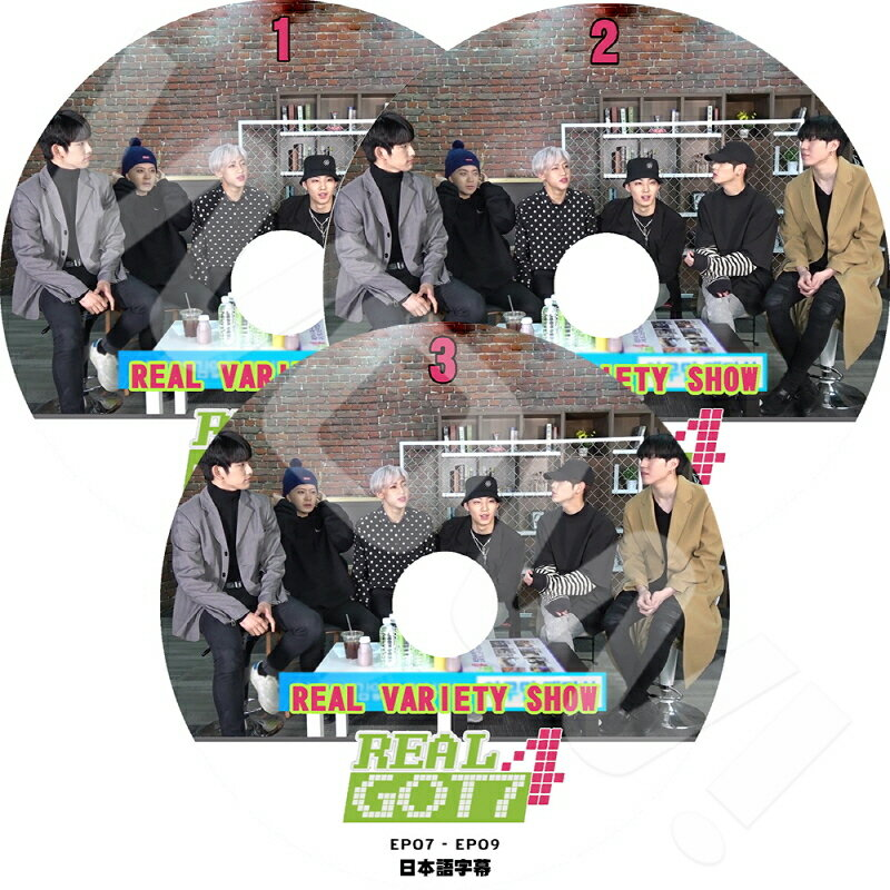 アジア・韓国, 韓国 K-POP DVD GOT7 Real GOT7 SEASON4 3SET (EP1-EP10) GOT7 DVD GOT7 DVD