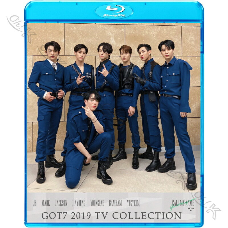 アジア・韓国, 韓国 Blu-ray GOT7 2016-2019 TV COLLECTION You Calling My Name Lullaby Never Ever Q Hard Carry K-POP GOT7 GOT7