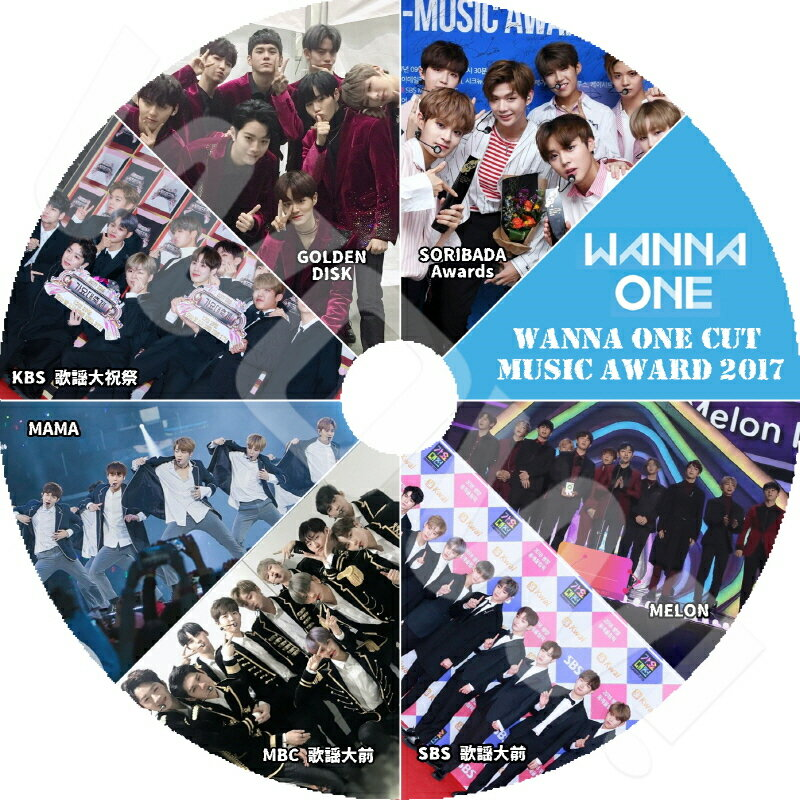 アジア・韓国, 韓国 K-POP DVD Wanna One CUT 2017 MUSIC Awards MelonMAMAGDAKBSMBCSBSSORIBAD A