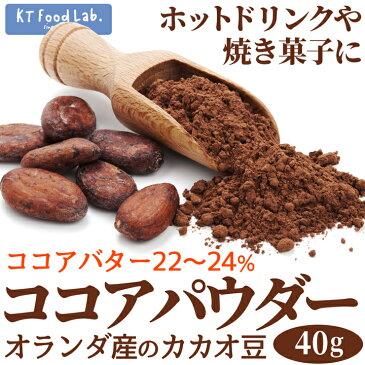 ココアパウダー 50g カカオパウダー / オランダ産 カカオ豆使用 ココア ホットドリンク 製菓 ショコラ 手作り クッキー ココア粉 ピュアココア