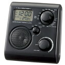 MP3にも接続可能、フックにかけることができて便利な携帯ラジオ。雨や雪などにも強い防滴携帯ラ...