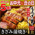 うなぎ 蒲焼き 鹿児島県産 国産 きざみ蒲焼き60g×4食セット!(鰻 ウナギ)
