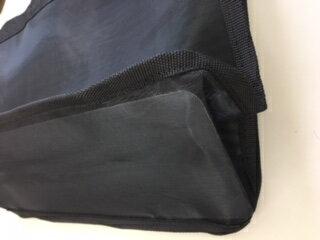 スパバッグ 温泉バッグ メッシュバッグ 黒 1個 32.8×24×マチ12.5cm【旅館・ホテル】【浴衣】【和物】配送方法は宅急便とレターパック(メール便)とお選びできます!