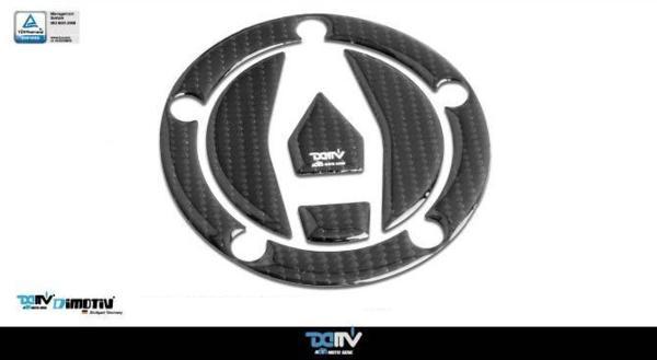 【メール便送料無料・代引不可】DIMOTIV カーボン調タンクキャップパッド H2 H2R Ninja ZX-10R Z900RS画像