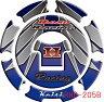 【メール便送料無料・代引不可】Keiti タンクキャップパッド(RHD205B等)CB1300 CBR600RR CBR250RR