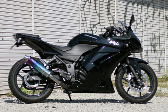 リアライズ マフラー Aria チタンTypeC Ninja250R画像