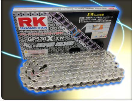 RKチェ−ン GP530X-XW-110 シルバー 530-110