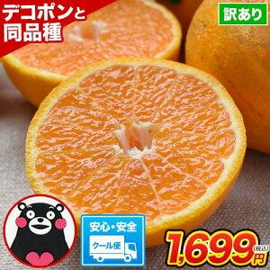 訳あり デコみかん 1.5kg 送料無料 みかん ミカン デコポン でこぽん 同品種 熊本県産 柑橘 お取り寄せ お取り寄せグルメ《5月中旬~6月上旬頃より発送予定》【2個購入で1セットおまけ 3個購入で3セットおまけ!】
