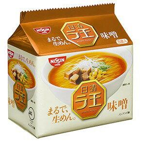 日清 ラ王 味噌 袋麺  1箱(5食パック×6)