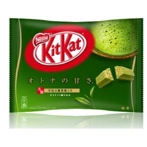 キットカット Kitkat ミニオトナの甘さ抹茶12枚 1箱(12袋入り)