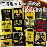 響 カレー レトルト 12種から選べる12袋セット ご当地カレー 詰め合わせ