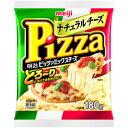 くまの中谷商店で買える「【冷蔵】明治 ピッツァミックスチーズ 180g ピザ用チーズ」の画像です。価格は430円になります。