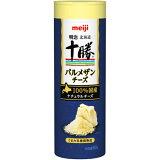 【冷蔵】明治 北海道十勝 パルメザンチーズ 80g×12本 国産100% 業務用