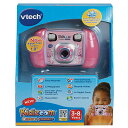 VTech Kidizoom Camera Connect ピンク子供用トイカメラ【送料無料】 MicroSD対応 トイカメラ キッズ用デジタルカメラ【平行輸入品】