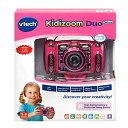 VTech Kidizoom Camera DUO 5.0 Deluxe ピンクDigital Selfie Camera with MP3 Player and Headphones Pink【送料無料】 MicroSD対応 子供用トイカメラ キッズ用デジタルカメラMP3プレーヤー【平行輸入品】