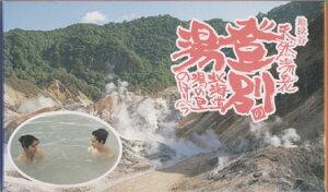 北海道登別温泉地獄谷産湯の花22パック入り1箱あるある大辞典