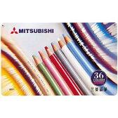 【送料無料!】【メール便】三菱鉛筆 色鉛筆 880級 36色 K88036CPスタンダードなUni色鉛筆880級