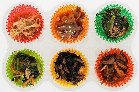 【冷凍食品よりどり10品以上で送料無料】ニチレイ6種の和惣菜6種×1個90g自然解凍でもおいしい!