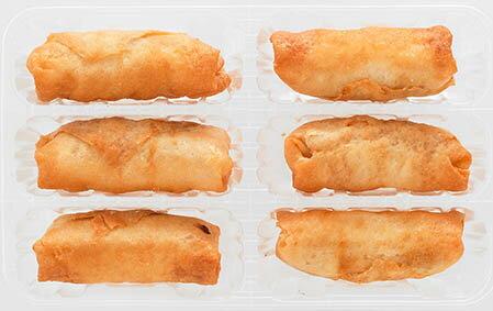 【冷凍食品よりどり10品以上で送料無料】ニチレイパリパリの春巻150g自然解凍でもおいしい!
