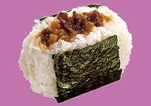 味の素冷凍食品『おにぎり丸牛すき焼き』